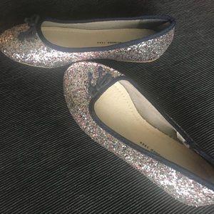 Gap girls sparkly flats 2